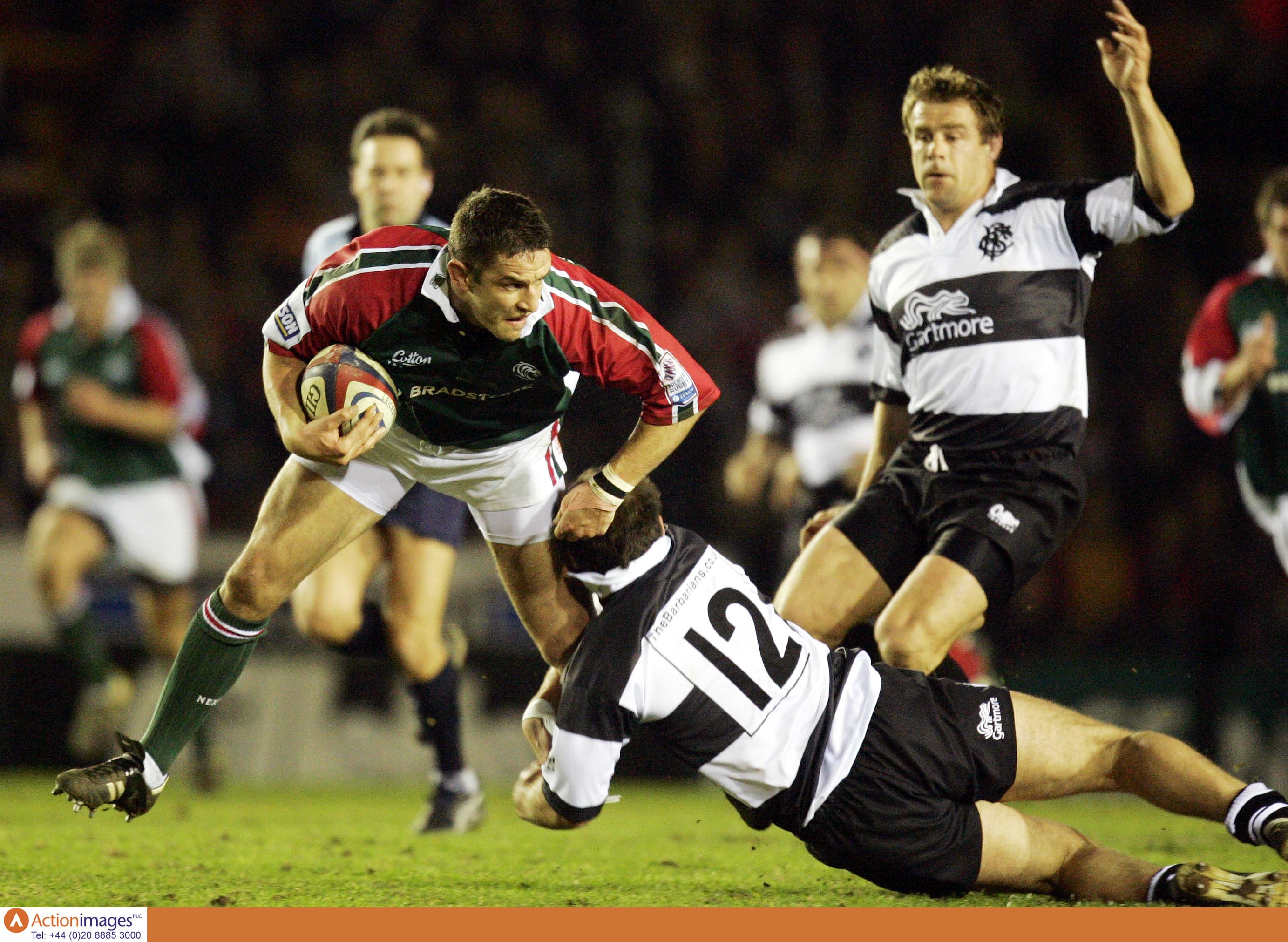 Will Johnson Leicester Tigers Barbarians 18 3 2005