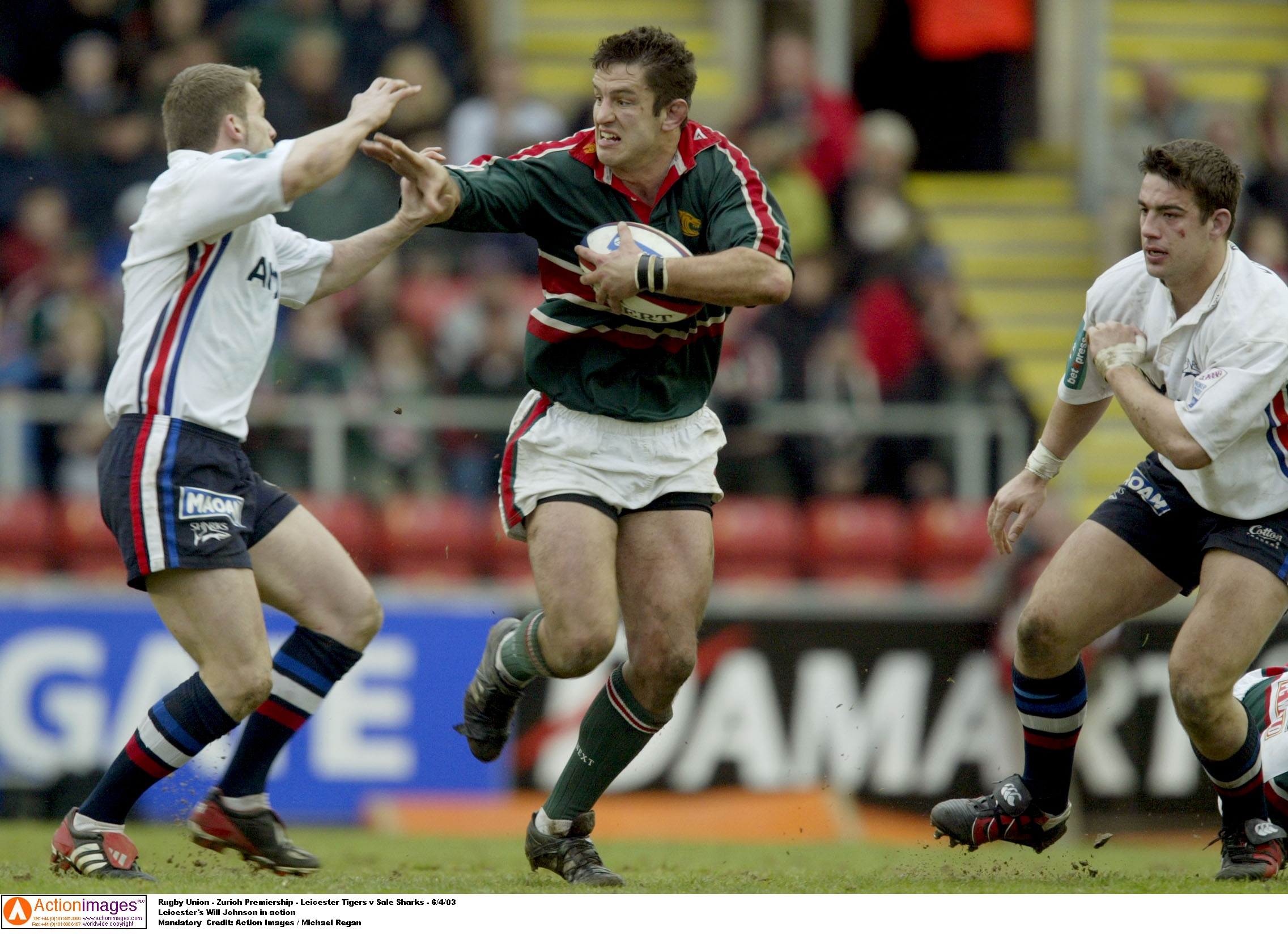 Will Johnson Leicester Tigers Sale 2 6 4 2003