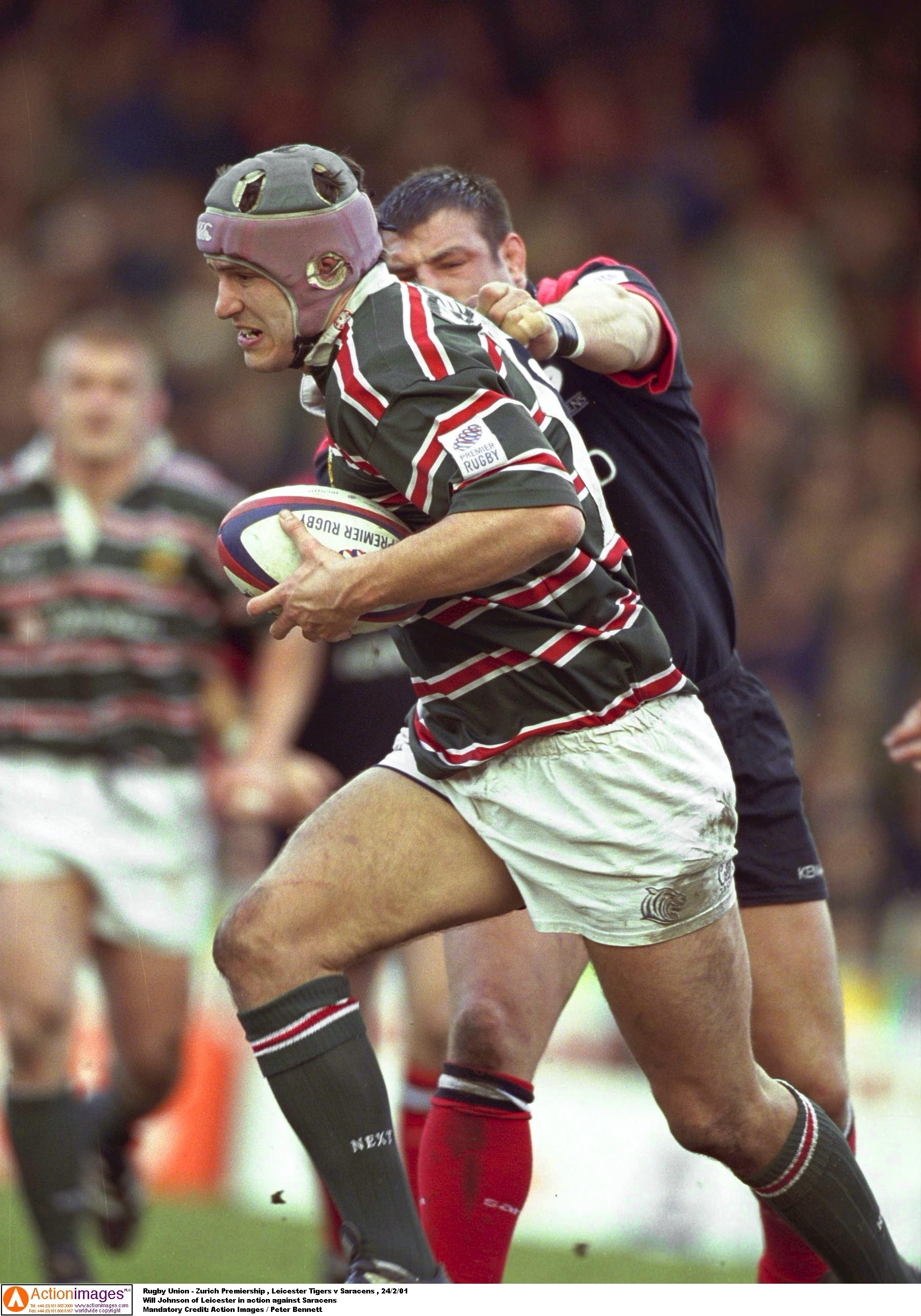 Will Johnson Leicester Tigers Saracens 24 2 2001